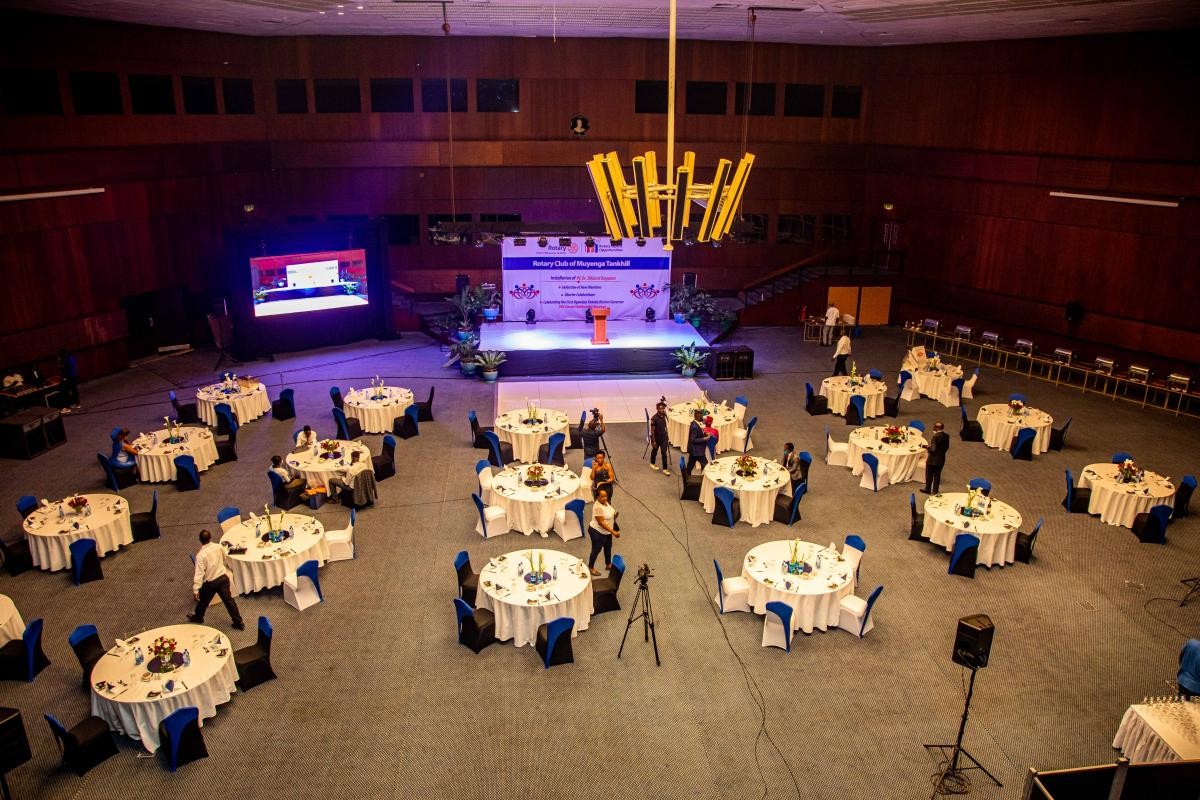 The Victoria Auditorium - Serena Kampala Hotel